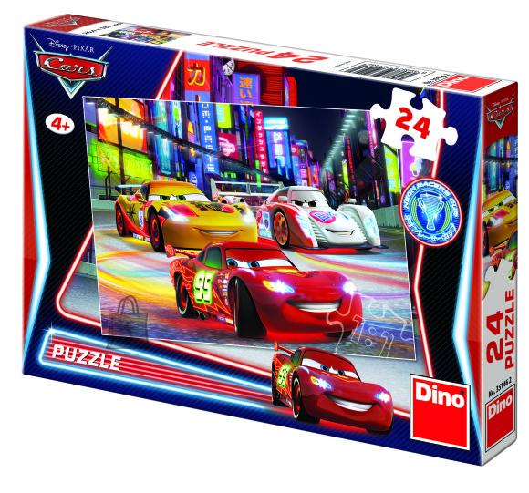 Dino Dino puzzle 24 tk. Cars