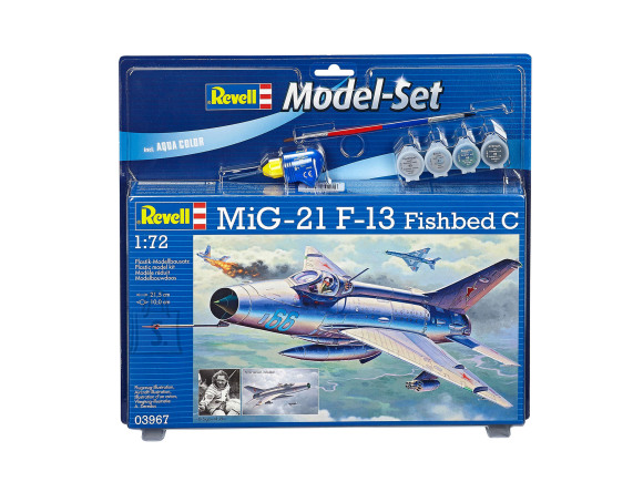 Revell Revell Model Set MiG-21 F-13 Fishbed C 1:72