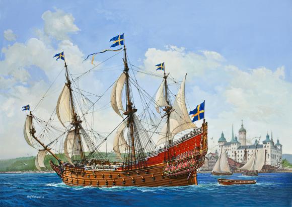 Revell Revell Gift-Set Royal Swedish Warship VASA