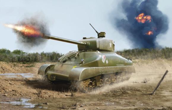 Revell Revell M4A1 Sherman 1:72