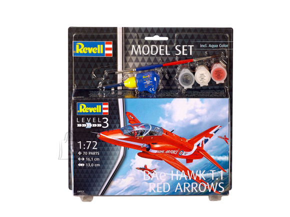 Revell Revell Model Set BAe Hawk T.1 Red Arrows 1:72