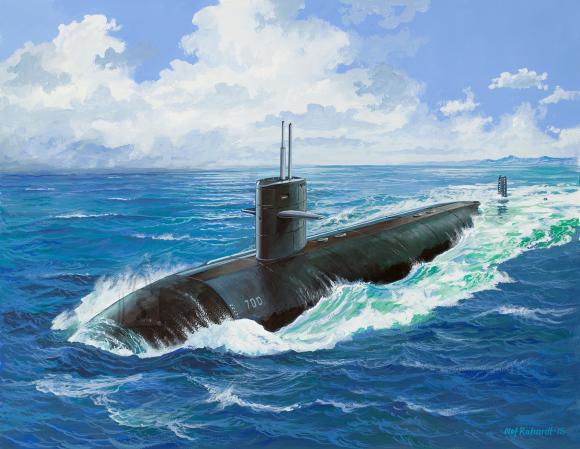 Revell Revell USS DALLAS (SSN-700) 1:400