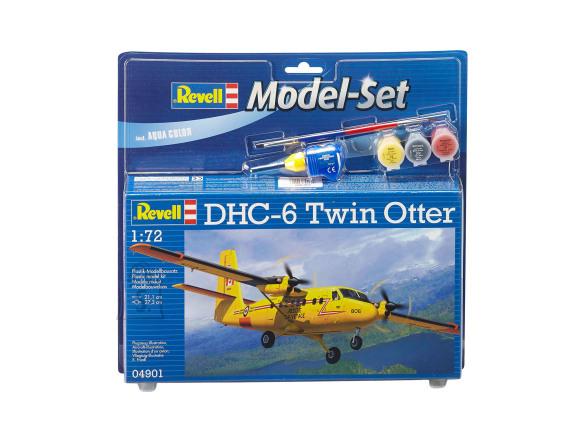 Revell Revell Model Set DHC-6 Twin Otter 1:72