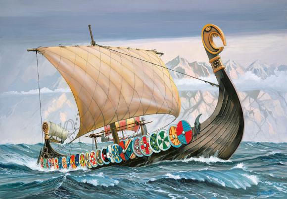 Revell Revell Northmen - Viking Ship 1:50