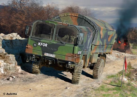 Revell Revell LKW 5t.mil gl (4x4 Truck) 1:72