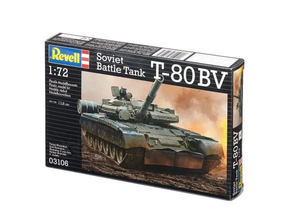 Revell Revell militaarsõiduk Soviet Battle Tank T-80BV 1:72