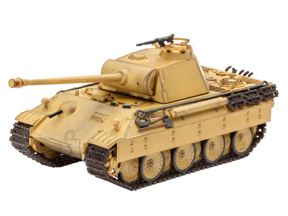 Revell Revell militaarsõiduk Panther Ausf.D /Ausf.A 1:72