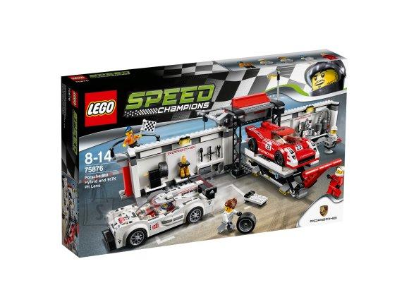 LEGO LEGO Speed Champions Porsche 919 ja 917K boksirada