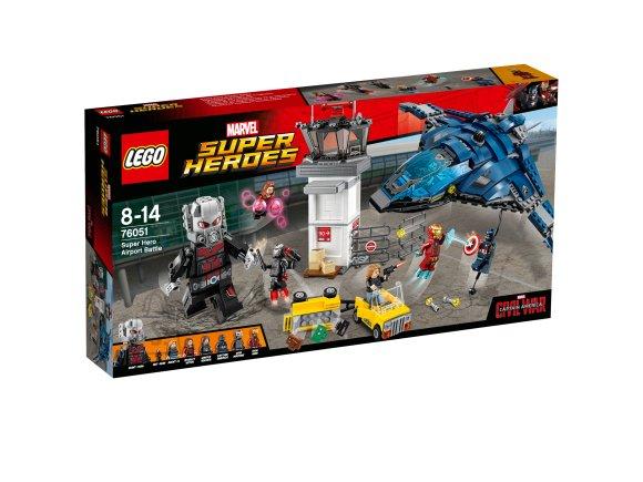 LEGO LEGO Super Heroes Superkangelaste kodusõda