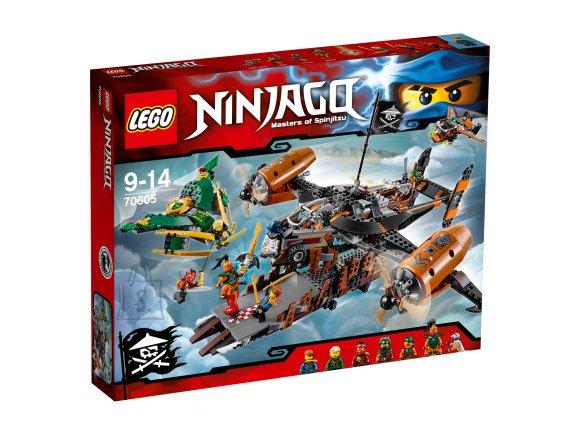 LEGO 70605 Ninjago Ebaõnne elutorn
