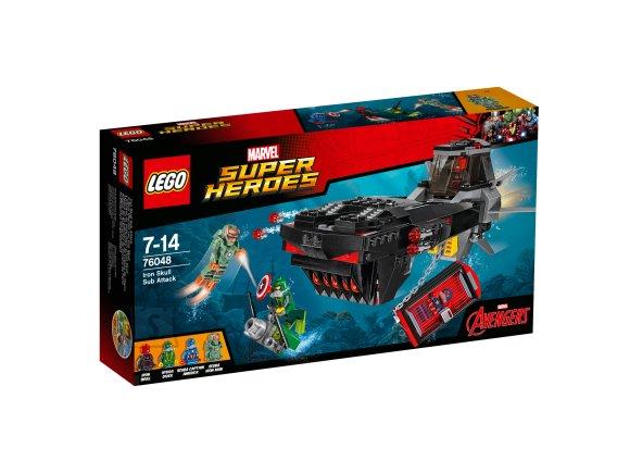 LEGO LEGO Super Heroes Raudkolba allveerünnak