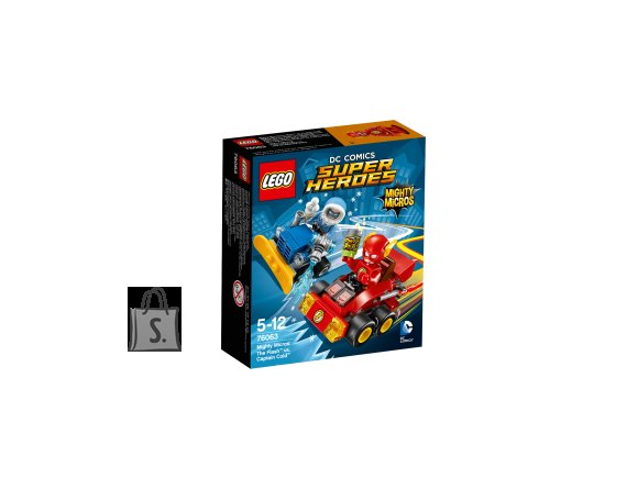LEGO 76063 Super Heroes Flash vs Kapten Külm
