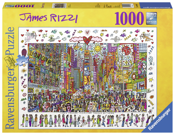 Ravensburger Ravensburger puzzle 1000 tk. Times Square