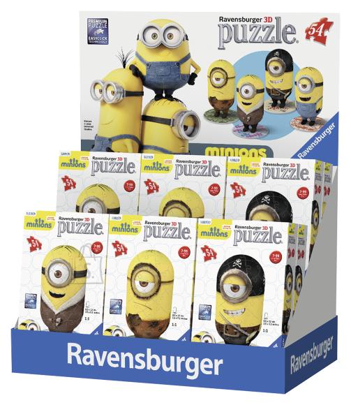 Ravensburger Ravensburger puzzlepall 54 tk. Minions kujuke
