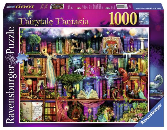 Ravensburger Ravensburger puzzle 1000 tk. Muinasjutu fantaasia