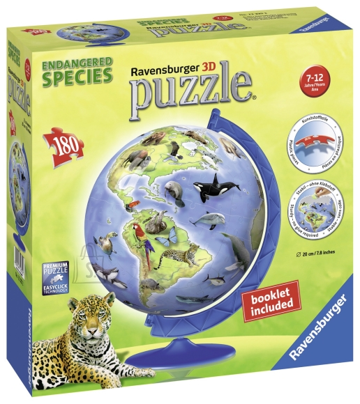 Ravensburger Ravensburger puzzlepall 180 tk. Ohustatud liigid