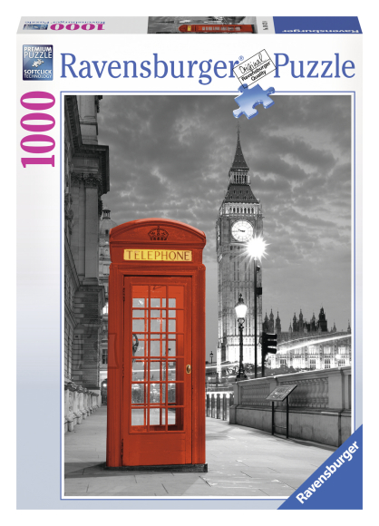 Ravensburger Ravensburger puzzle 1000 tk. Big Ben, London