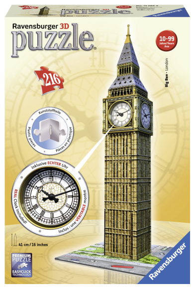 Ravensburger Ravensburger 3D puzzle 216 tk. Kellaga Big Ben