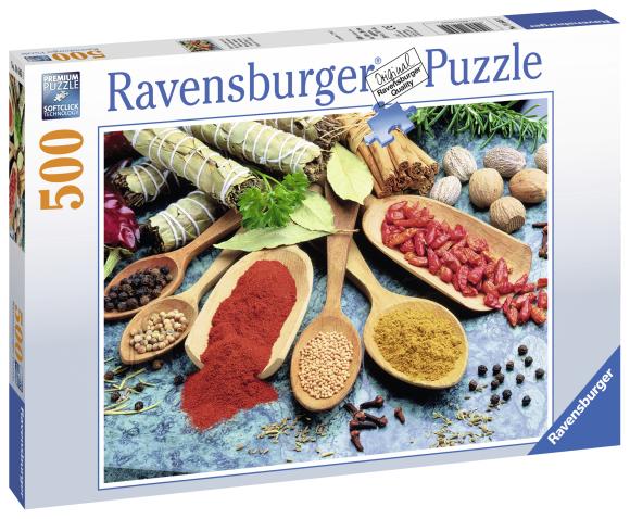 Ravensburger Ravensburger puzzle 500 tk. Värvikad vürtsid