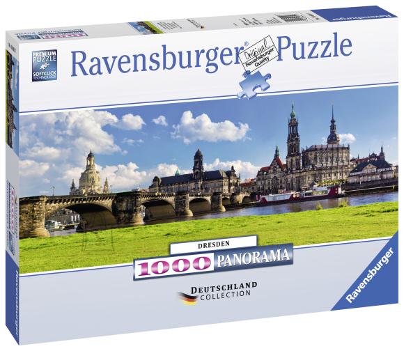 Ravensburger Ravensburger panoraampuzzle 1000 tk. Dresden