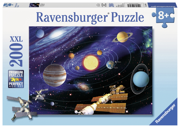 Ravensburger Ravensburger puzzle 200 tk. Päikesesüsteem