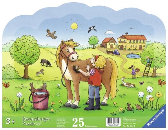 Ravensburger Ravensburger siluett plaatpuzzle 25 tk. Hobune
