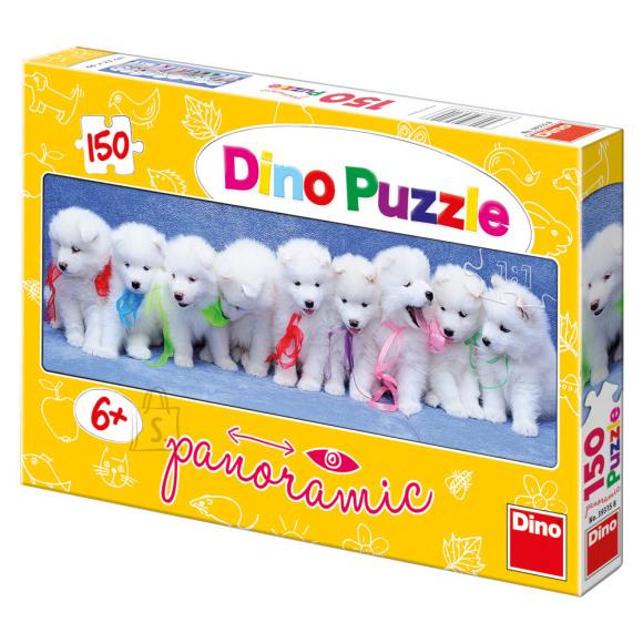 Dino Dino puzzle 150 tk. Kutsud lehvidega