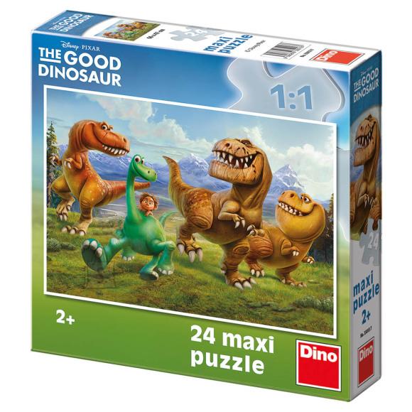 Dino Dino põrandapuzzle 24 tk. Dinosaurused