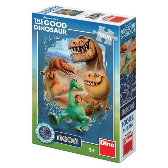 Dino Dino puzzle 100 XXL tk. Neon Dinosaurused