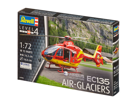 Revell Revell Airbus Helicopters EC135 AIR-GLACIERS 1:72
