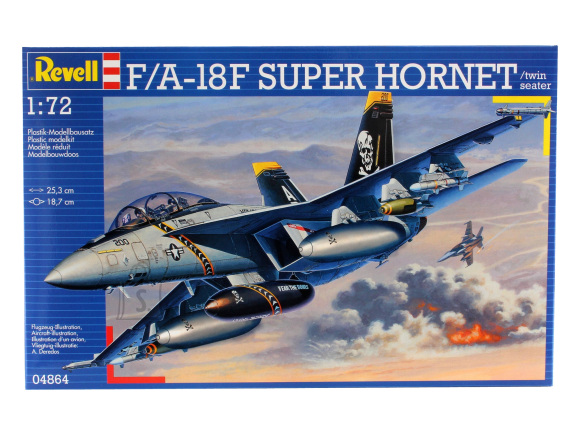 Revell Revell F/A-18F SUPER HORNET twin seater 1:72