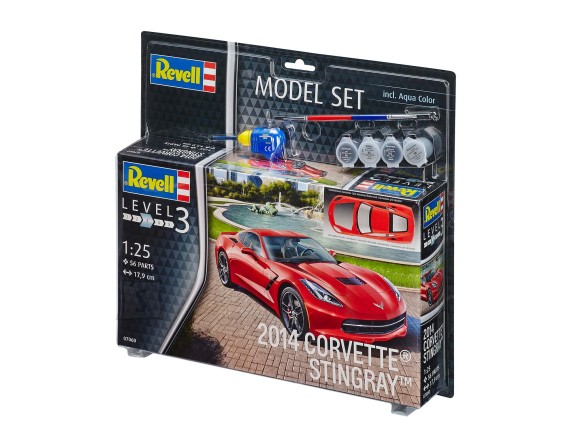 Revell Revell Model Set 2014 CORVETTE STINGRAY 1:25