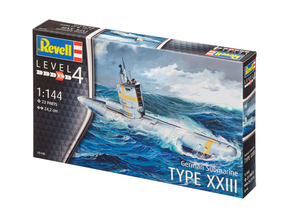 Revell Revell German Submarine TYPE XXIII 1:144