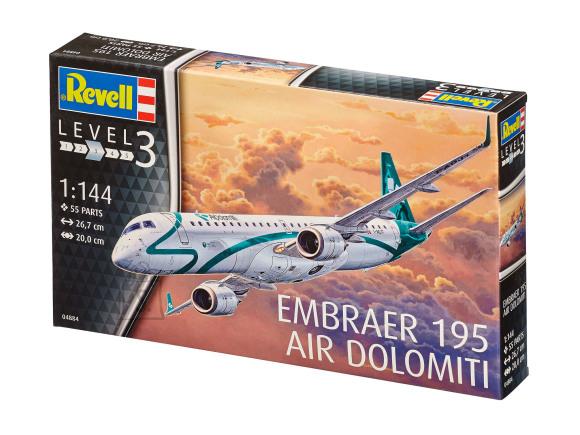 Revell Revell Embraer 195 AIR DOLOMITI 1:144