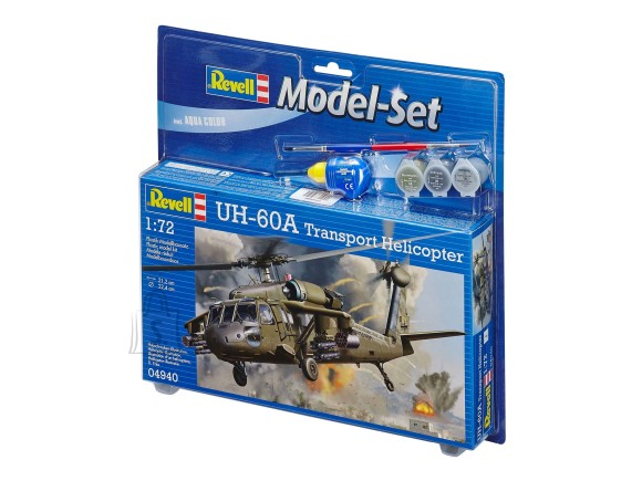 Revell Revell Model Set UH-60A Transport Helicopter 1:72
