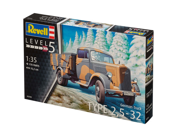 Revell Revell German Truck TYPE 2,5-32 1:35