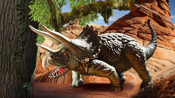 Revell Revell dinosaurus Triceratops 1:13