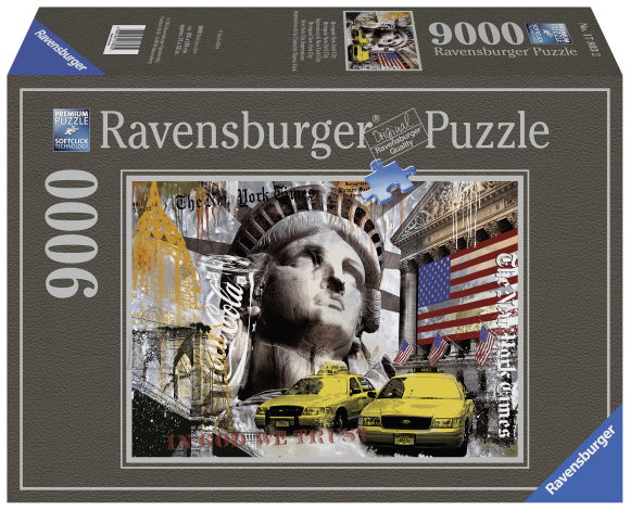 Ravensburger Ravensburger puzzle 9000 tk. New York