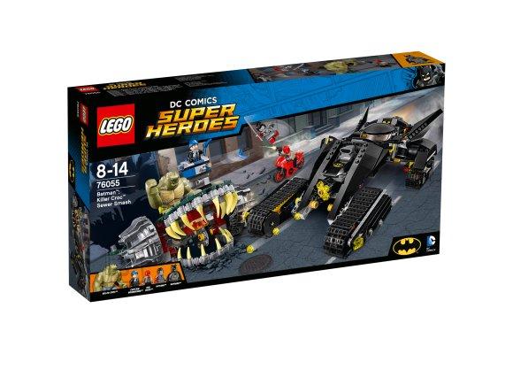 LEGO Super Heroes Batman™: Tapjakrokodill™ – rentslipurustus