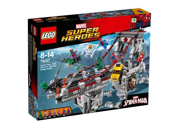 LEGO Super Heroes Spider-Man: võrgusõdalaste viimane lahing sillal
