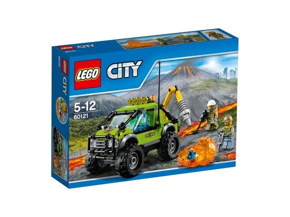 LEGO City Vulkaani uurimise veok