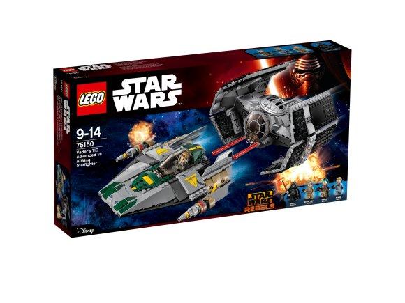 LEGO Star Wars Vaderi TIE Advanced vs. A-Wing Starfighter