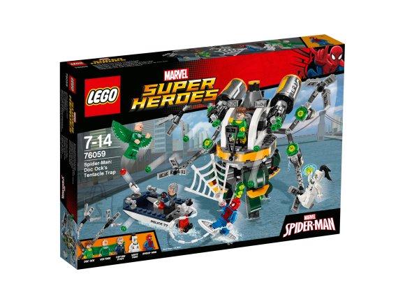 LEGO Super Heroes Spider-Man: Doc Ocki kombitsalõks
