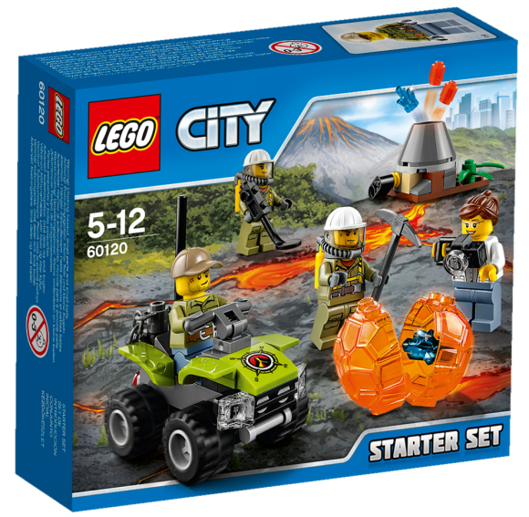 LEGO 60120 City Vulkaani põhikomplekt