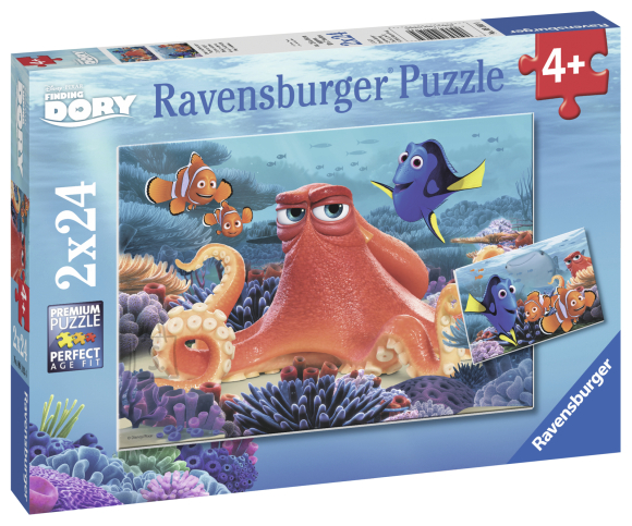 Ravensburger Ravensburger puzzle 2x24 tk. Dory