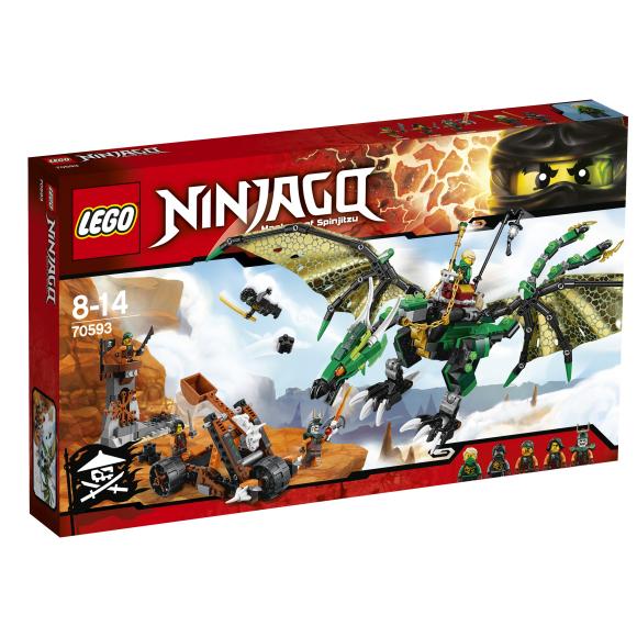 LEGO Ninjago Roheline NRG draakon 70593