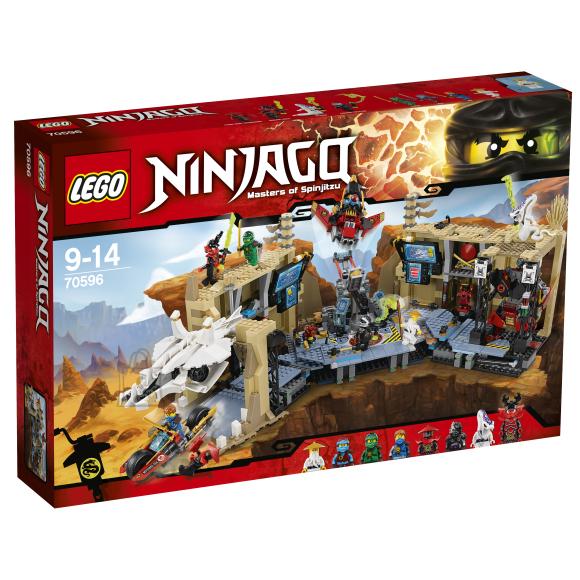 LEGO Ninjago Samurai X ja kaosekoobas