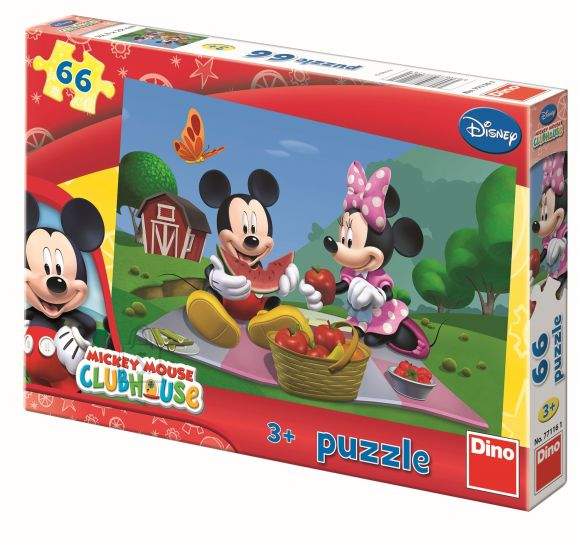Dino pusle Mickey Mouse 66tk