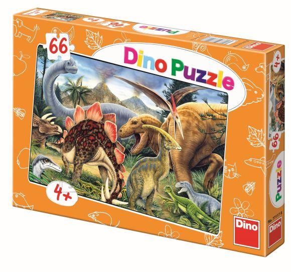 Dino pusle Dinosaurus 66tk
