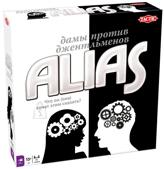Tactic venekeelne lauamäng Alias Naine vs. Mees